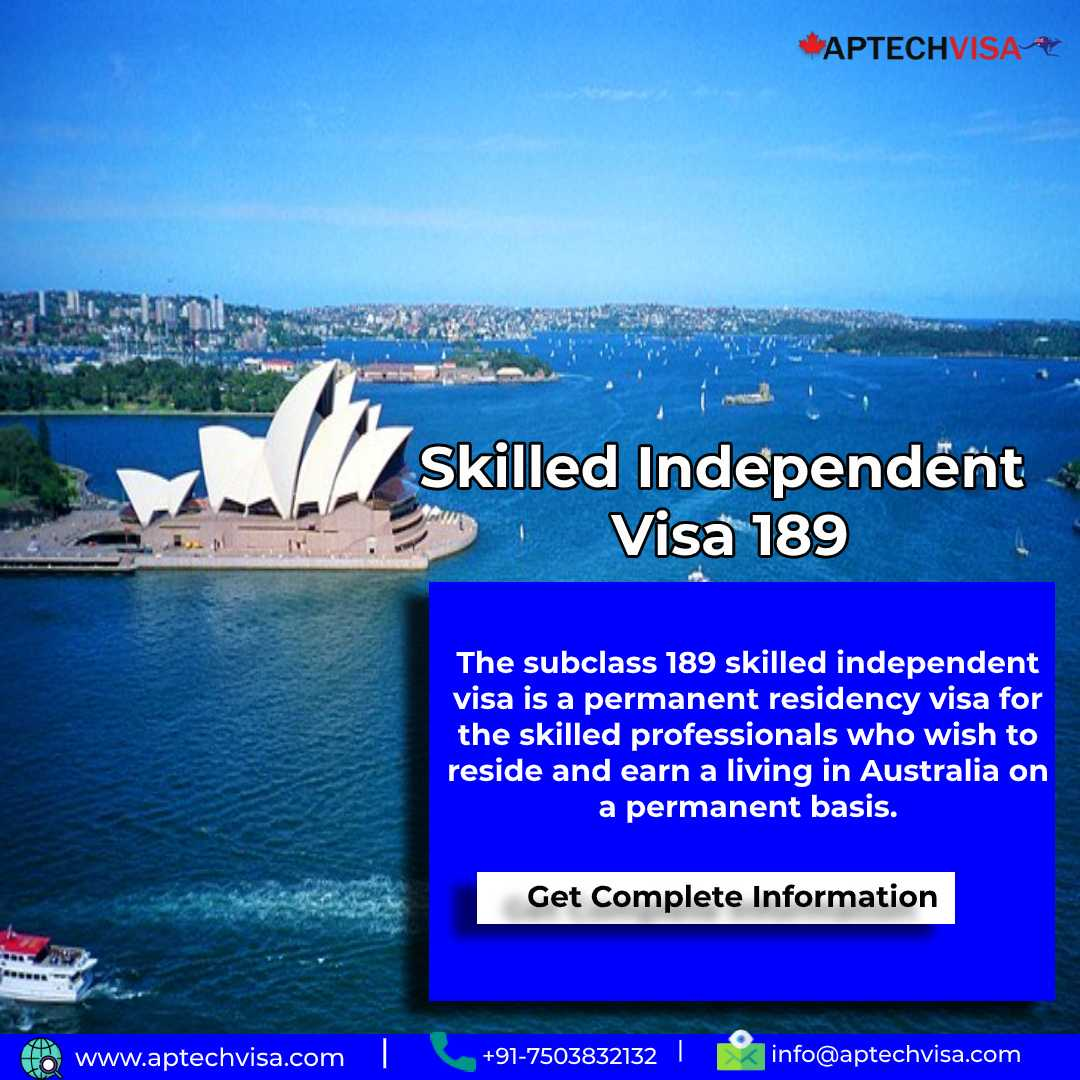 What is the step by step Australia PR Process for visa 189?